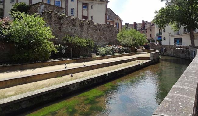 Canal en normandie