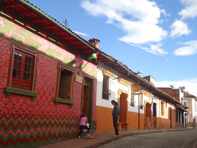 Bogota, quartier historique