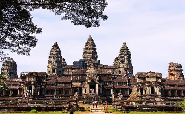 Le site d'Angkor au Cambodge