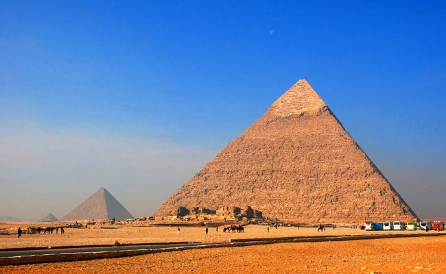 Les Pyramides de Gizeh en Égypte