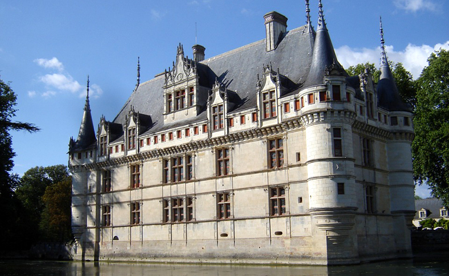 Visiter Le château d'Azay-le-Rideau
